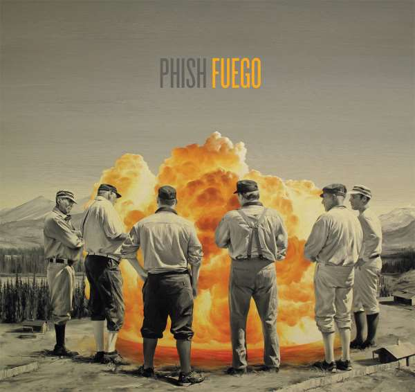 Phish Fuego Stream New Album