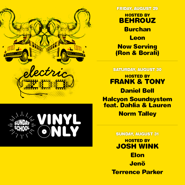 Vinyl Only Lineup