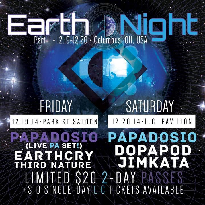 Papadosio Earth Night Columbus 2014-2