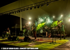 The sun came out and the music filled the air during the inaugural David Shaw's Big River Getdown held at RiversEdge Amphitheater in Hamilton, Ohio.
