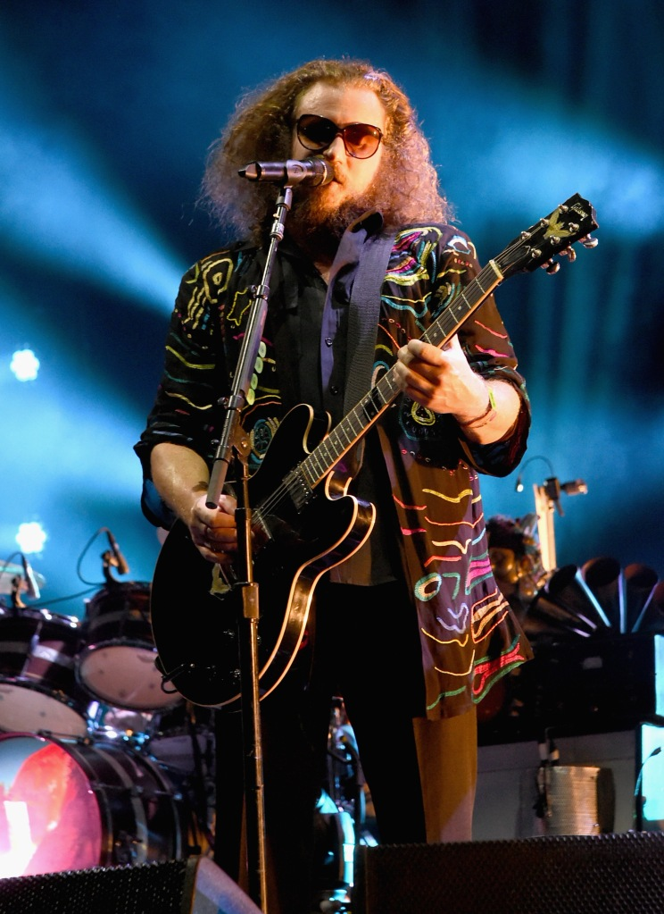 MANCHESTER, TN - JUNE 13:  Musician Jim James of My Morning Jacket performs on the What Stage during Day 3 of the 2015 Bonnaroo Music And Arts Festival on June 13, 2015 in Manchester, Tennessee.  (Photo by Jeff Kravitz/FilmMagic for Bonnaroo Arts and Music Festival)