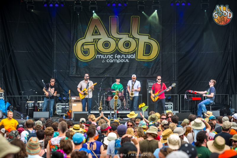 The Bridge @ All Good Festival 2015 |  B.Hockensmith Photography