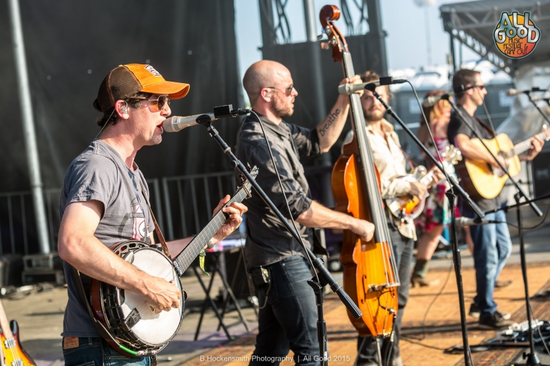 Yonder Mountain String Band @ All Good Festival 2015 |  B.Hockensmith Photography