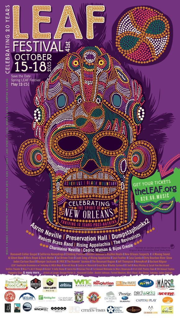 Fall LEAF Festival 2015 - Final Poster