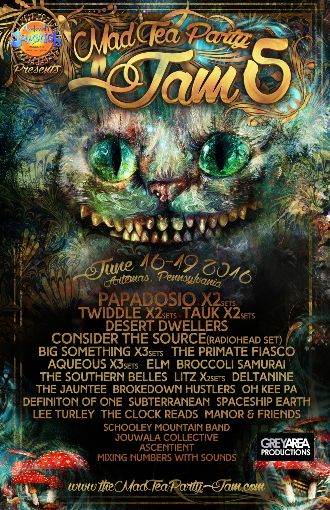 The Mad Tea Party Jam 5 - Lineup Announcement-2