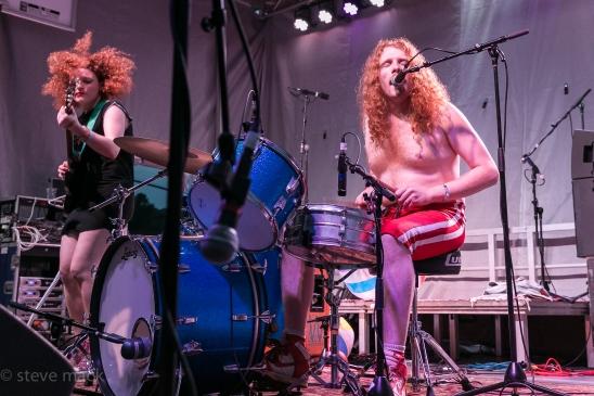 2016 Nelsonville Music Festival - White Mystery-1