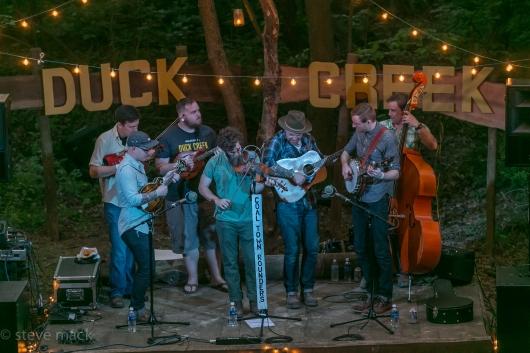 Duck Creek Log Jam - Coal Town Rounders-5